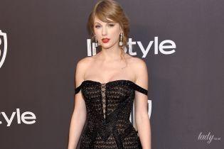 Дівчинка виросла: Тейлор Свіфт у відвертій сукні блищала на вечірці відомого глянцю
