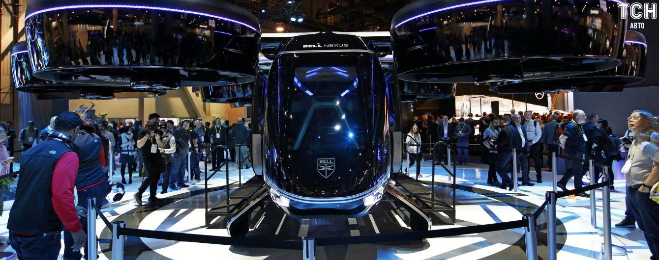 Виставка інновацій CES: представлений летючий електрокар Nexus Air Taxi