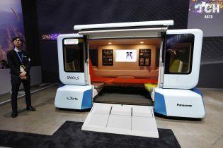 Виставка інновацій CES: Panasonic представив безпілотники на платформі-трансформері