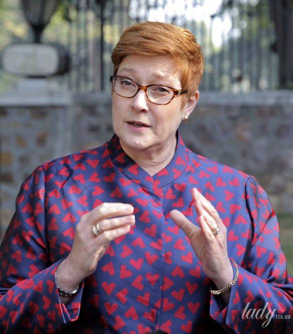 Министр иностранных дел Австралии Мэрис Пэйн_2