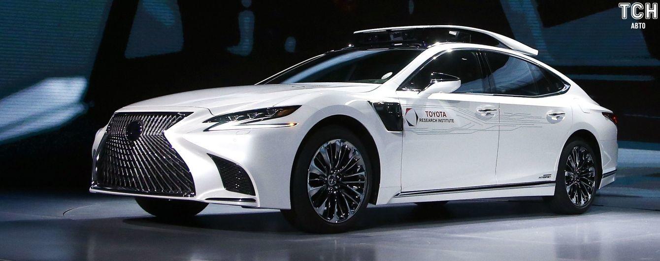 Toyota представила беспилотник на базе гибрида Lexus