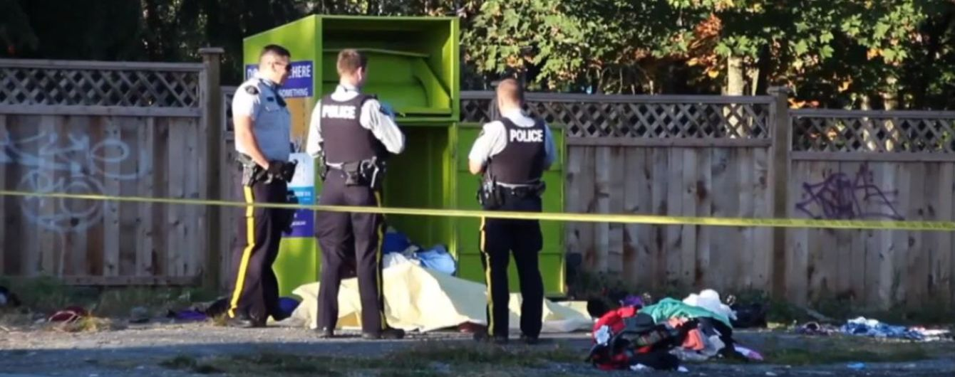 Канадка застрягла у контейнері для пожертв і померла