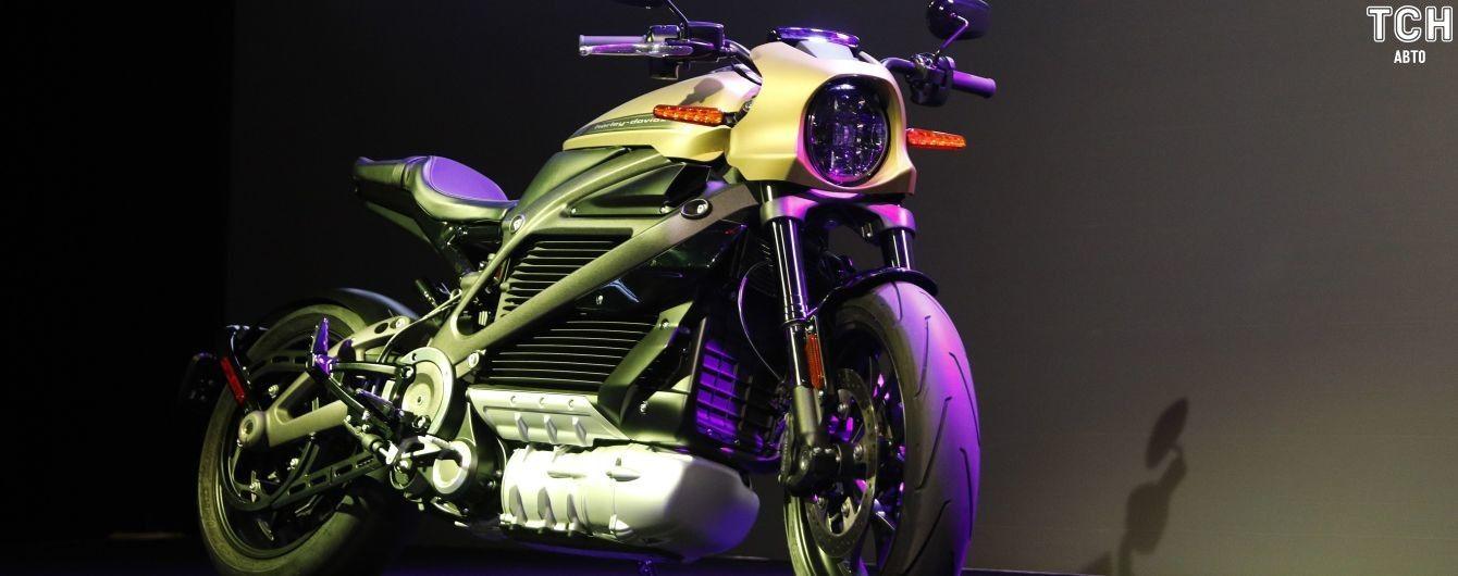 Harley-Davidson назвал цену первого электробайка