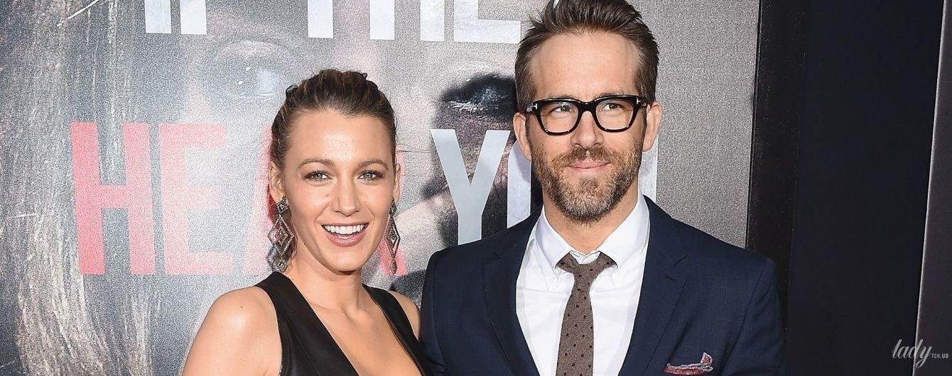 Кажуть, вагітна: Райан Рейнольдс заінтригував шанувальників новим знімком своєї дружини Блейк Лайвлі