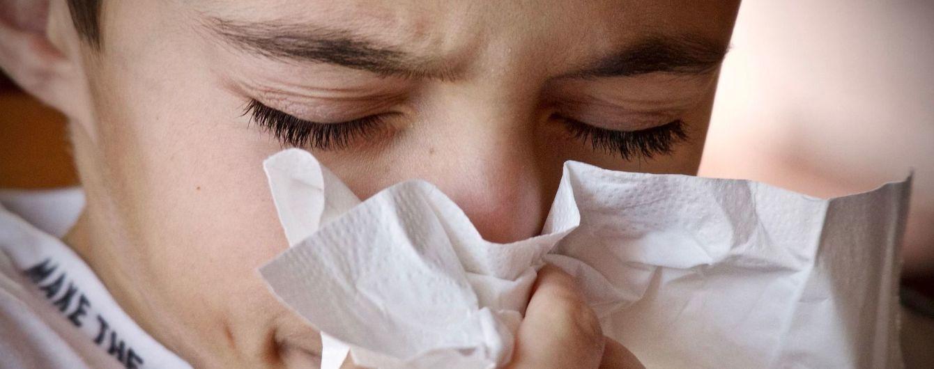 У Києві зросла захворюваність на грип і ГРВІ