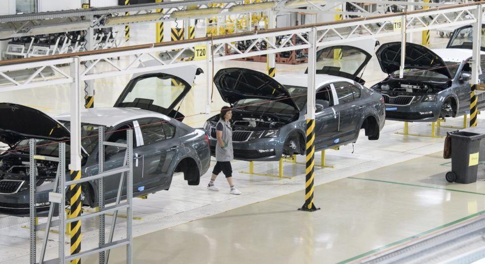 Производство легковых автомобилей Skoda удвоилось в Украине