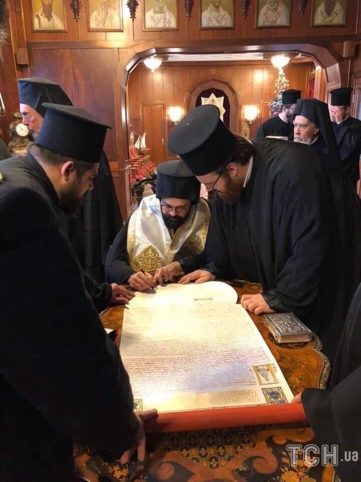 Підписання Томосу Синодом_2
