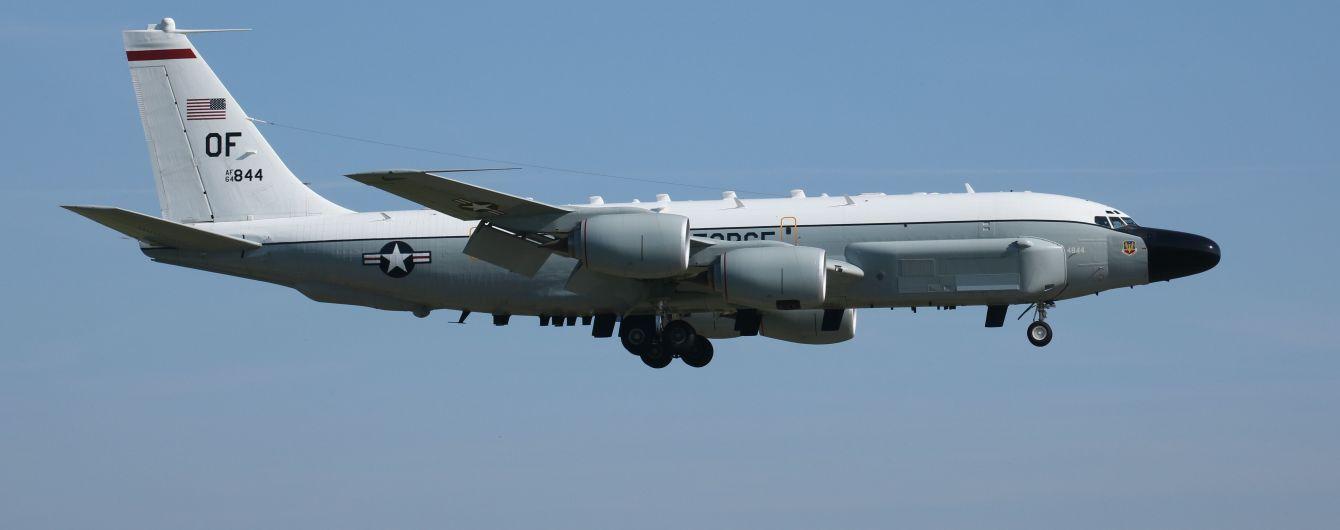 Разведывательный самолет США начал наблюдательную миссию над оккупированным Крымом