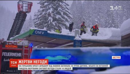 В Австрії під лавиною загинула 16-річна дитина