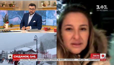 Ситуация на австрийских горных курортах остается безнадежной для лыжников