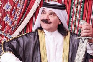 В образі арабського шейха: Павло Зібров на відпочинку в Дубаї