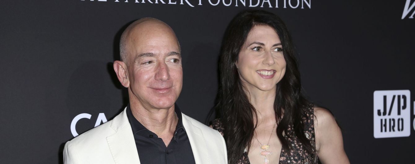 Дружина засновника Amazon Безоса після розлучення увійде до топ-5 заможних жінок світу