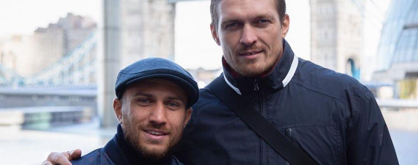 Forbes назвав суперників, з якими обов'язково повинні зустрітися Ломаченко та Усик у 2019 році