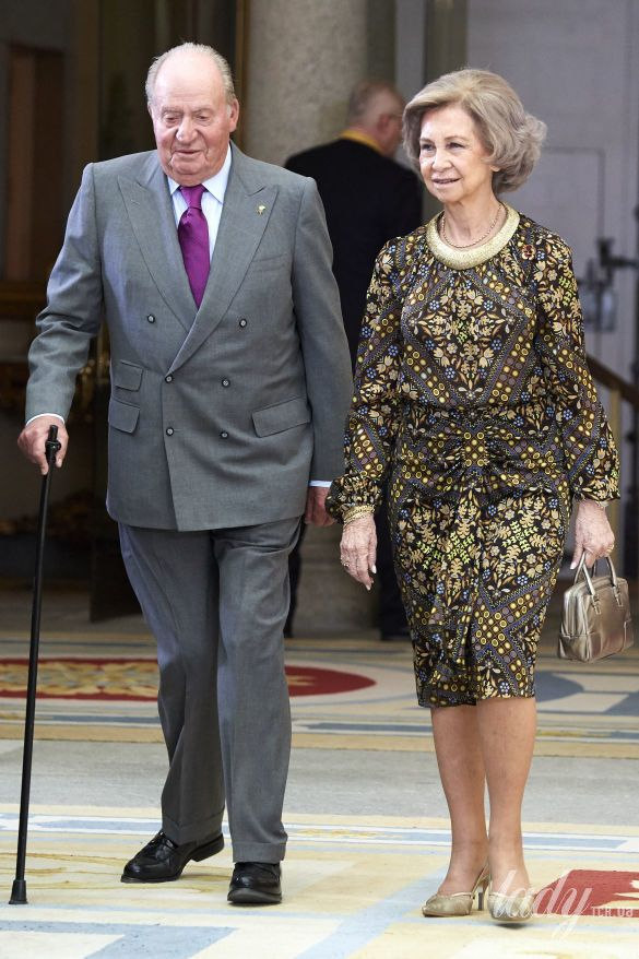 Королева София и король Хуан Карлос