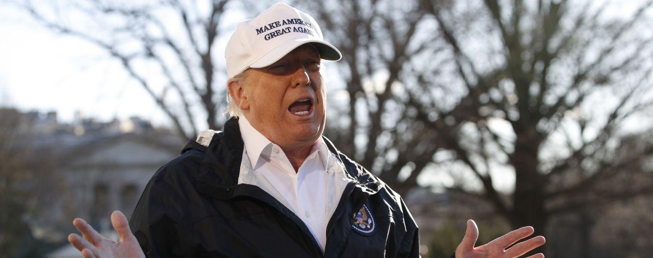 Трамп отменил поездку в Давос