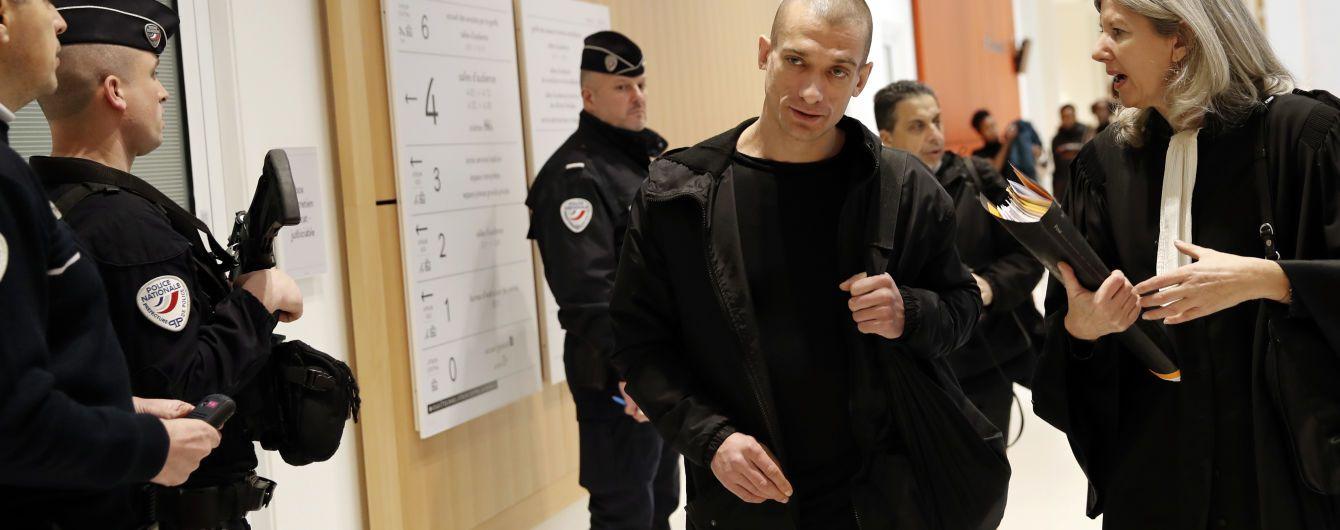 Во Франции вынесли приговор российскому художнику Павленскому за поджог дверей банка
