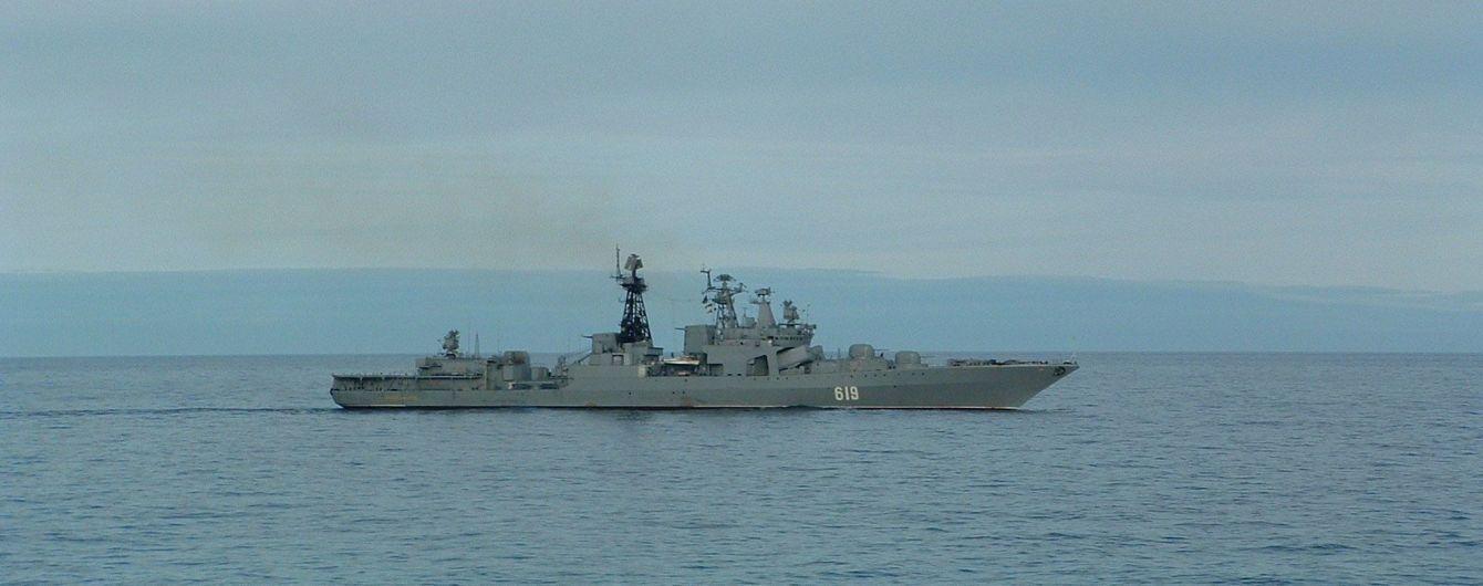 До окупованого Севастополя прибув есмінець російського флоту