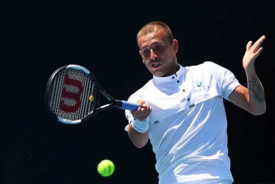 Британський тенісист приголомшив суперника космічним ударом на Australian Open