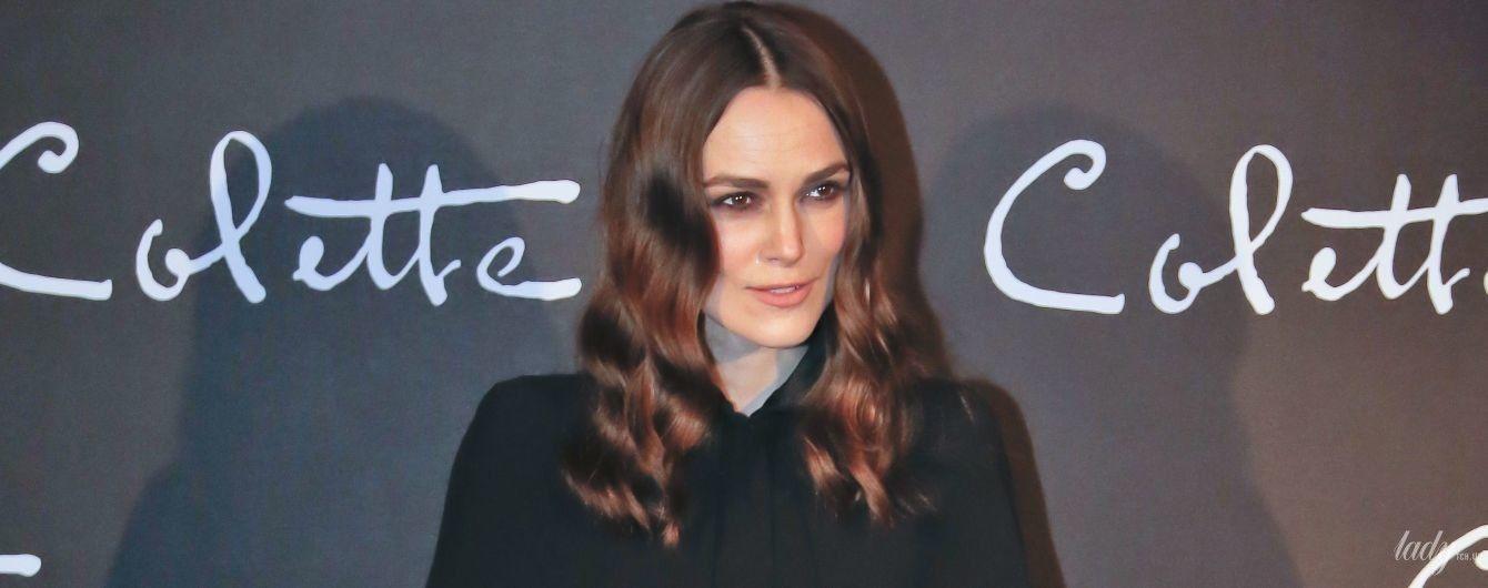 Опять в Chanel: Кира Найтли на премьере нового фильма в Париже