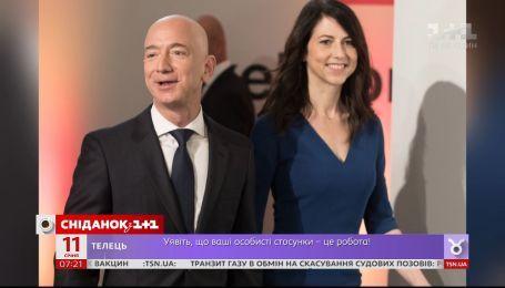 Самый богатый человек мира и основатель Amazon Джефф Безос разводится с женой