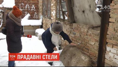 Древние каменные потолки нашли студенты в Кировоградской области