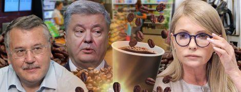 """Кофе по-кандидатски. Как политики """"светились"""" на АЗС накануне выборов"""