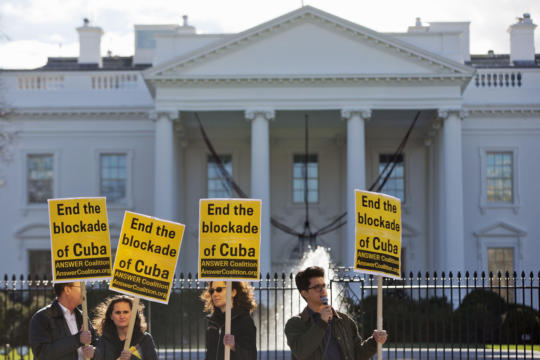 куба, протести проти блокади куби