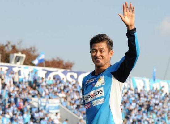 51-річний японський футболіст подовжив контракт із клубом