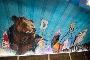 Скандальные рисунки: бесплатно нарисованные на Осокорках муралы обошлись городу в более 3,6 млн гривен