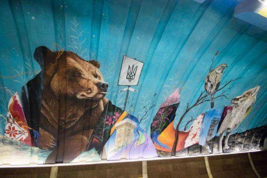 Скандальні малюнки: безкоштовно намальовані на Осокорках мурали обійшлися місту у понад 3,6 млн гривень