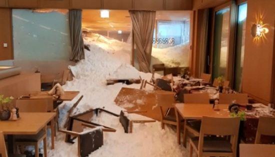 У Швейцарії на готель з відвідувачами зійшла снігова лавина