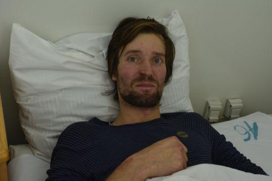 Знайдений лижник розповів, як йому вдалося вижити і чому хоче повернутись до хатинки