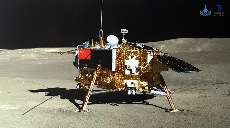 Зонд Чаньє-4, Китай, луна