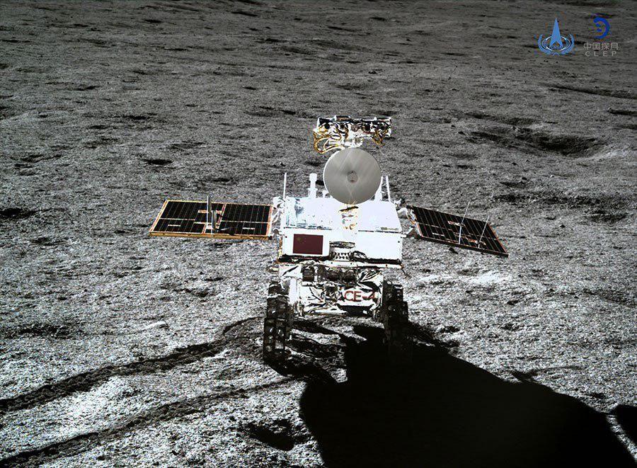 Місяцехід Юту-2, китай, луна