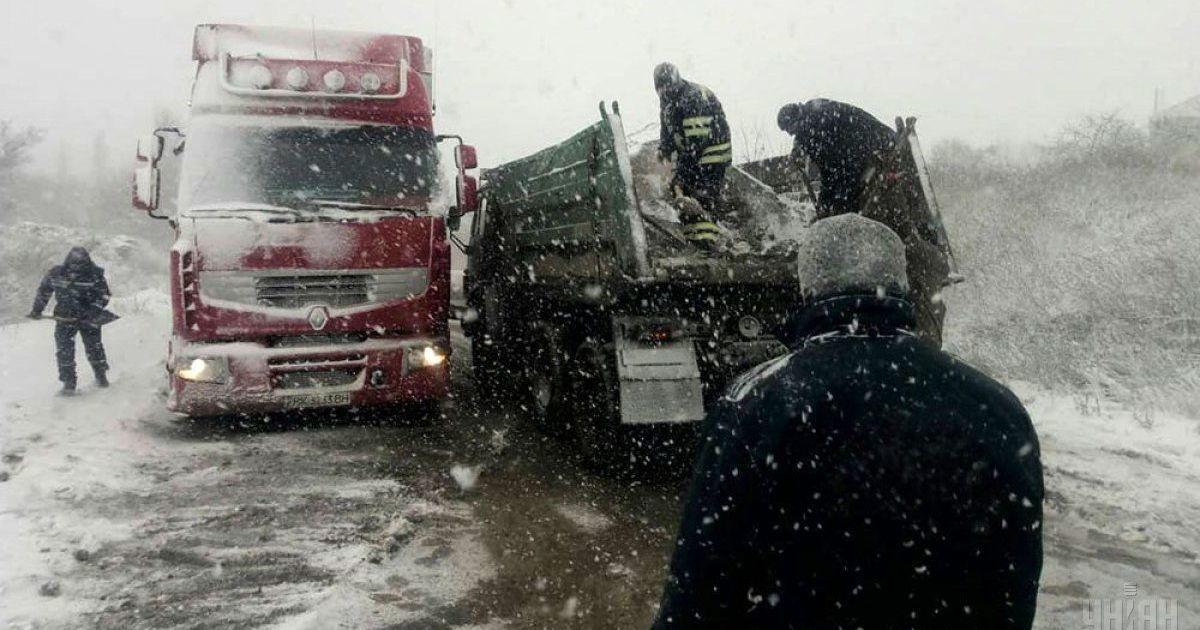 Укравтодор снял ограничения для движения транспорта на Кировоградщине