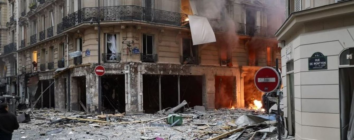 В центре Парижа взорвалась пекарня