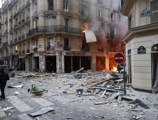 У центрі Парижа вибухнула пекарня