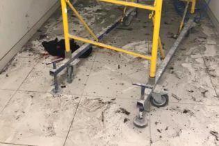 В торговом центре Киева произошел взрыв