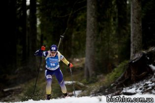 Меркушина фінішувала 8-ю у спринті на Чемпіонаті Європи