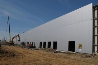 Американская корпорация строит новый завод в Украине