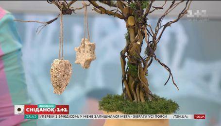 Простая и экологическая кормушка для птиц - мастер-класс от Ольги Пахар