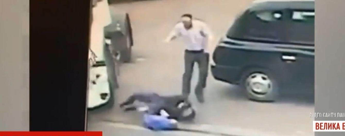 Горе-вор в Британии попал под грузовик, убегая с места преступления