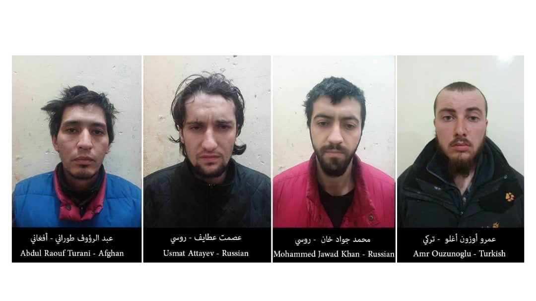 Затримані бойовики ІДІЛ