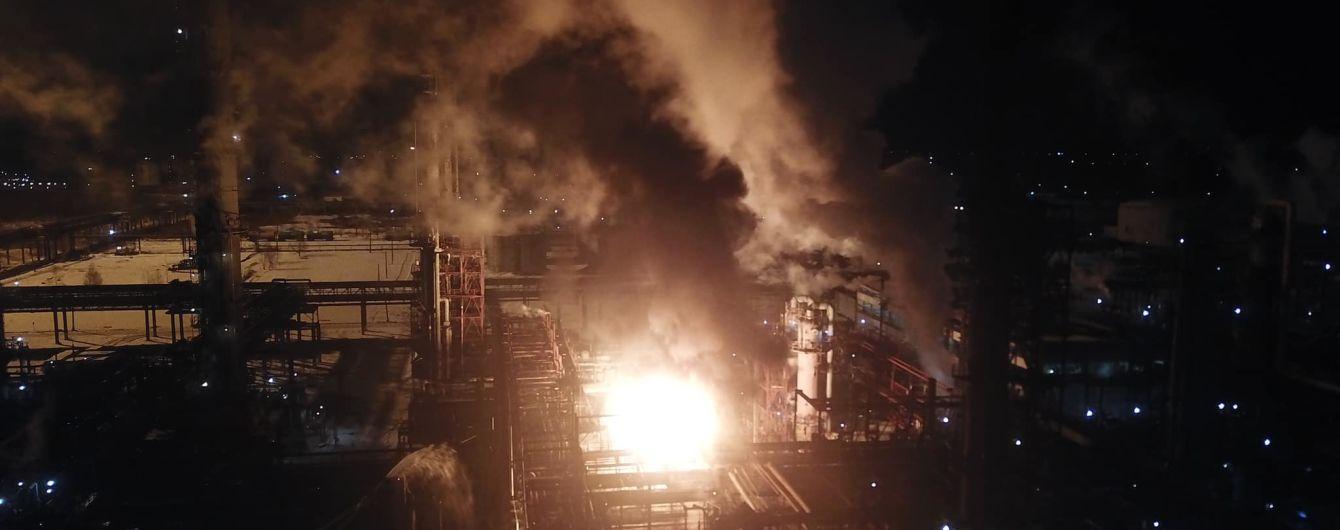 Пожар на заводе в Калуше потушили