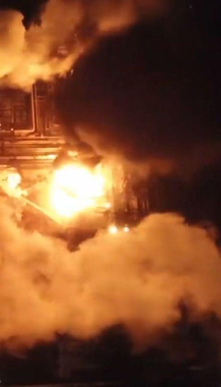 Причиною пожежі на заводі в Калуші могли стали зношені трубопроводи
