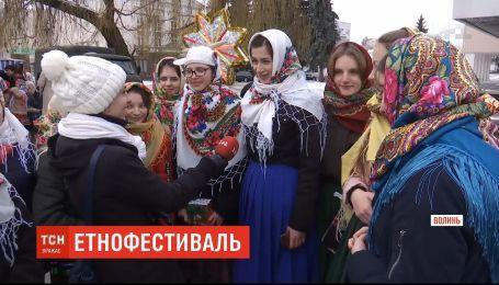 Коляда по-волинськи: у Луцьку відбувся масштабний етнофестиваль