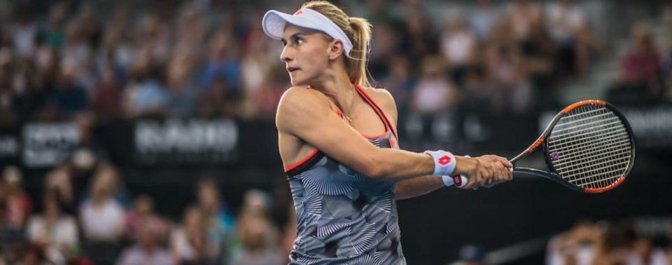 Цуренко знялася з чергового тенісного турніру