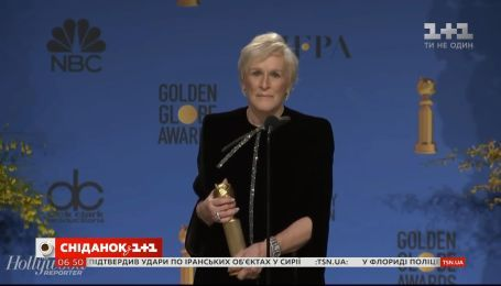 В мире обсуждают речь актрисы Гленн Клоуз на церемонии Золотой глобус