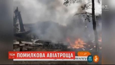 В Иране разбился грузовой самолет, по меньшей мере семь человек погибли