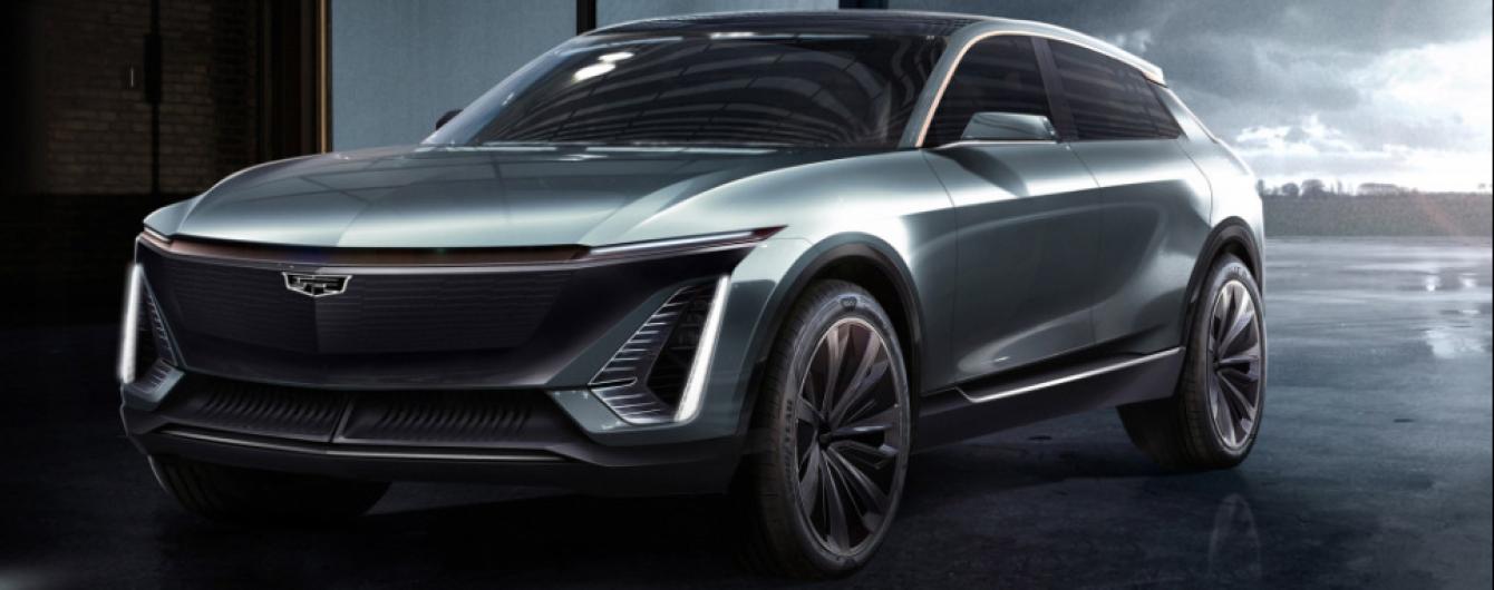 Cadillac показал тизер первого электрокара